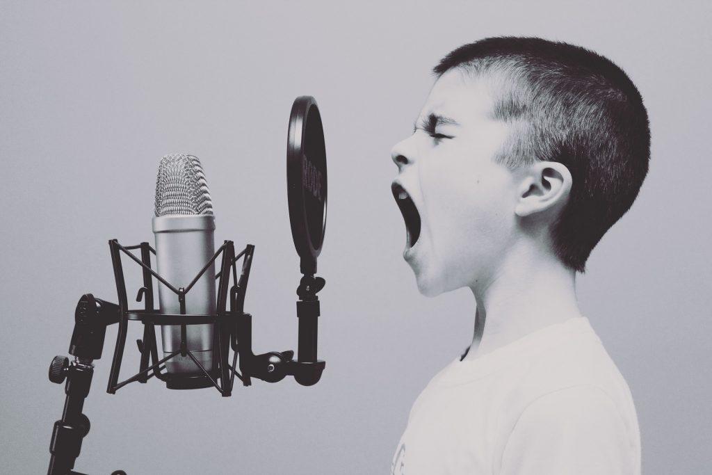 Du poids de la voix dans les médias sociaux