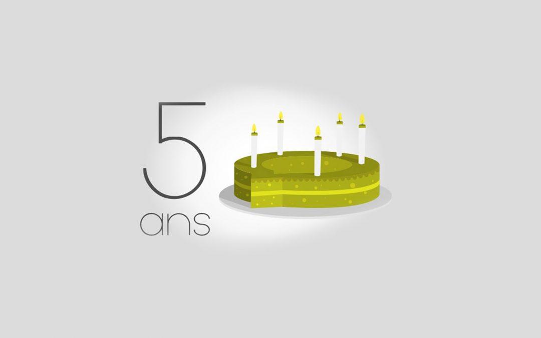 5 ans Saooti