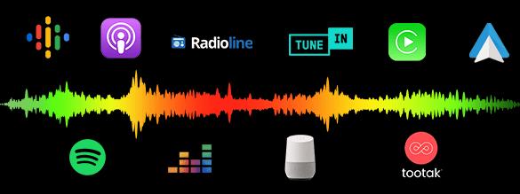 schema distribution podcast natif