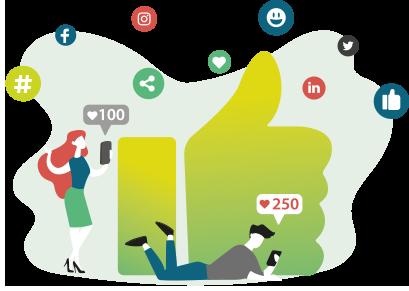radio en point de vente_partage reseaux sociaux